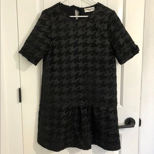 NWOT Essentiel Antwerp Black Dropped Waist Dress